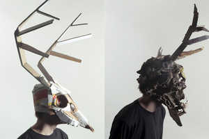 The Jozef Mrva Masks Are Eerie and Creatively Crafted