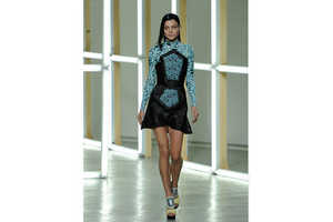 The Rodarte Spring 2013 Collection Boasts References to Battle Gear