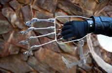 Giant Robotic Costume Contraptions - The Mechanical Hand Doubles the Size of Your Puny Human Hand
