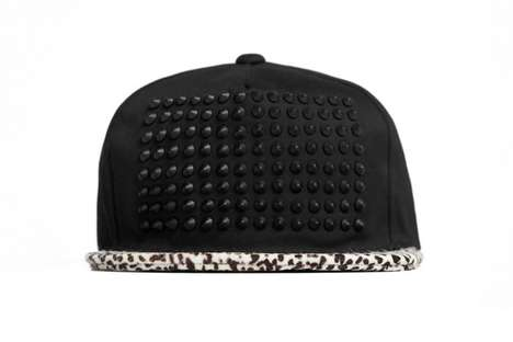 Pony Hair Studded Hat