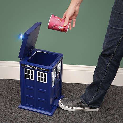 TARDIS Trash Can
