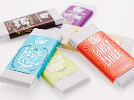 Theo Chocolate Packaging