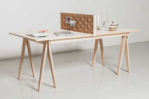 The Fletta Table Uses One Clever Feature to Serve a Pair of Purposes