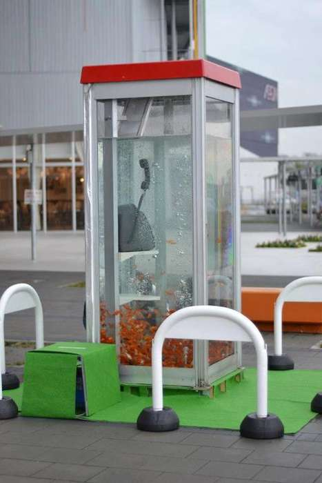 Phone Booth Aquariums