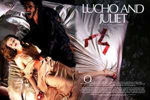 The CR Fashion Book 'Lucho and Juliet' Editorial is Creepy-Chic