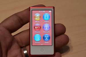 The iPod Nano 7 is Nearly the Size of a Credit Card