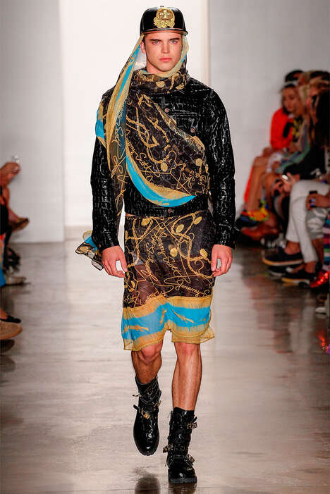 Street Nomad Runways - The Jeremy Scott Spring/Summer 2013 Collection is Arab-Inspired