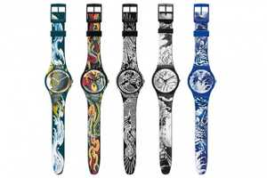 The Swatch Tattoo Art Watch Line is a Hardcore Way to Tell Time