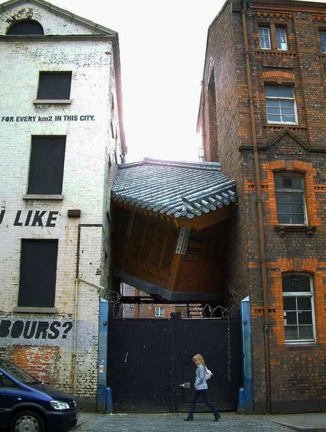 Crammed House Installations - Bridging Home by Do-Ho Suh Brings Different Cultures Together