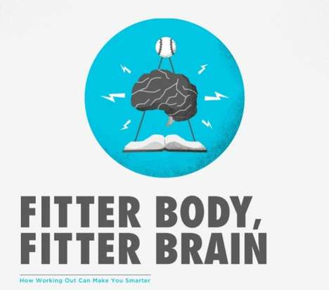 Fitter Body Fitter Brain infographic
