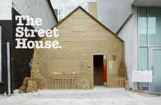 The Leo Burnett Raising The Roof Campaign: The Street House