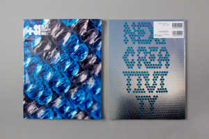 +81 Magazine Creates Typography with Ink-Injected Bubble Wrap