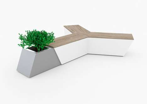 Air Bench by Alessandro di Prisco