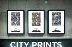 Handmade Home Town Posters