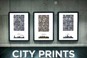 The City Prints by Jason Haynes Boast Your City Pride