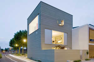 The Stripe House by GAAGA Architects Boasts a Lined Design