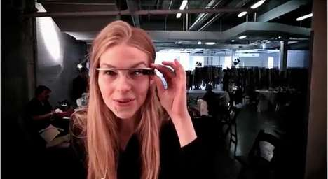DVF [through Glass] Video by Google