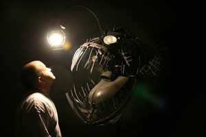 The Deep Sea Angler Lamp by Justin La Doux is Terrifying