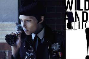 The Vogue Italia 'Wild and Chic' Editorial Channels Dark Allure