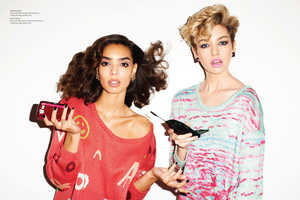 Nasty Gal's 'Weird Science' Photoshoot Incorporates Styles of the Past