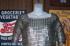 Upcycled Canned Fashions