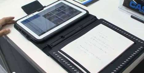 Handwriting-Recognition Scanners - Pen Lovers Can Digitize Notes with the Casio Paper Writer