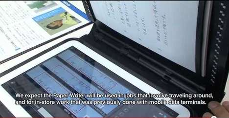 casio paper writer