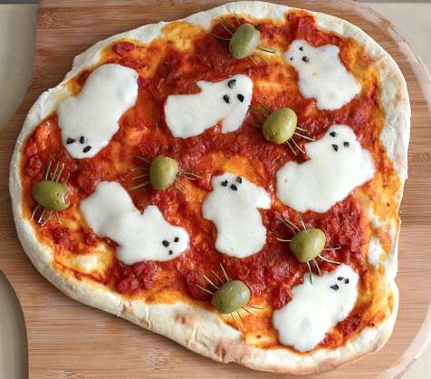 Adorably Spooky Cheesy Pies