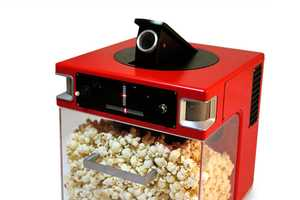 The Popcorn, Indiana 'Popinator' Uses Voice Detection to Launch Snacks