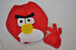The Angry Bird Children's Halloween Costumes are Adorable