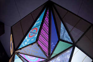 The Keiichi Matsuda Prism Displays Information About London