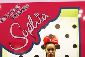 The Sophia Webster Resort 2013 Collection Transforms Models into Dolls