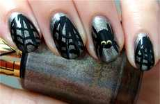 37 Delightfully Ghoulish Nail Designs