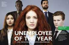 Jobless-Celebrating Ads - The Benetton 'Unemployee of the Year' Campaign Recognizes Artistic Souls