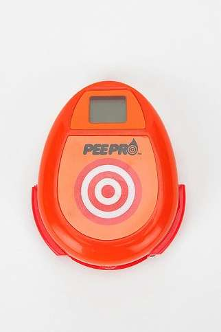 Bulls-Eye Toilet Games - The Pee Pro Measures the Accuracy of Your Aim