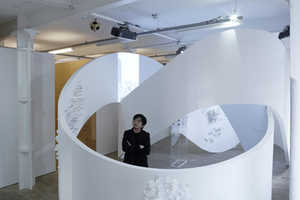 Tangling by Akihisa Hirata Hypnotizes with Curvaceous Shapes