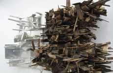 Leonardo Drew Creates Massive Installations Out of Waste