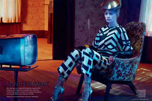 The Marie Claire Magazine October 2012 Issue Boasts Boisterous Designs