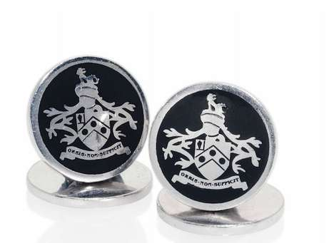 Secret Agent Cufflinks - The James Bond Skyfall Cufflinks are Designed by Tom Ford