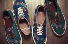Avian-Accented Sneakers - The Vans Birds Shoe Collection Presents High-Flying Folksy Fashion