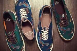 The Vans Birds Shoe Collection Presents High-Flying Folksy Fashion