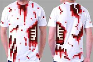 The 8-Bitty Pixelated Shirts Make for Simple Halloween Costumes