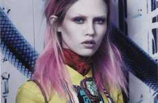 13 Striking Suvi Koponen Photoshoots - From Lustrous Leather Editorials to Baby-Losing Lookbooks