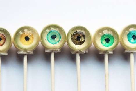 Eyeball Lollipops