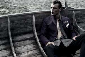 The Prada Men's Fall 2012 Campaign Focuses on Internal Destruction