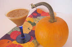 Pumpkin-Flavored Martinis