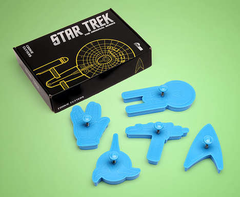 Star Trek Cookie Cutters Bring Adventure to your Tastebuds
