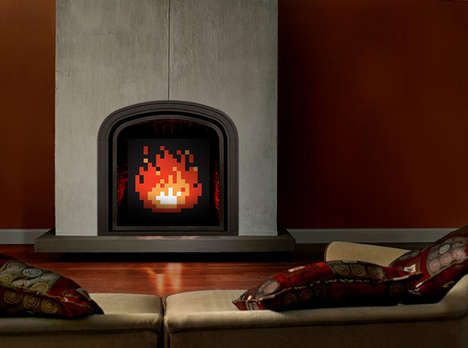 Fashion-Forward Fireplaces