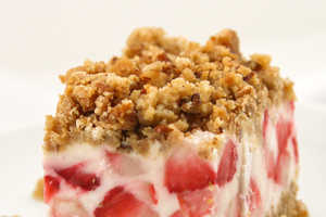 The Pip and Ebby Strawberries and Cream Dessert is Unconventional