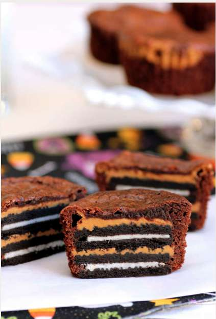 Oreo and Peanut Butter Brownie Recipe